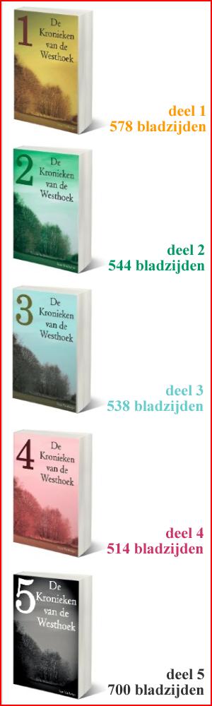 DE 6 BOEKEN ZIJN TE KOOP VIA DE STANDAARD BOEKHANDEL